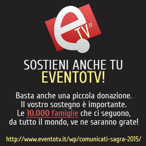 Sostieni EventoTV
