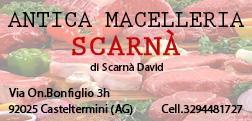 BANNER SCARNA' MACELLERIA